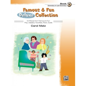 Alfred Music Famous & Fun Deluxe Collection: Book 3