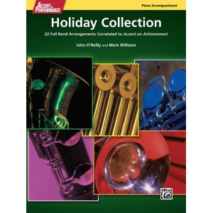 Alfred Music Accent on Performance Holiday Collection: Book, Piano