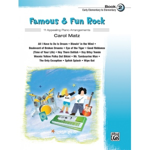 Alfred Music Famous & Fun Rock: Book 2