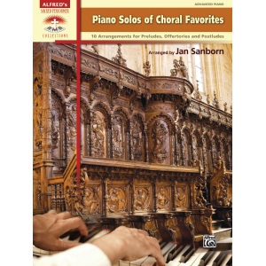 Alfred Music Piano Solos of Choral Favorites