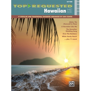 Alfred Music Top Requested Hawaiian Sheet Music