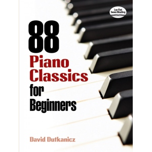 Alfred Music 88 Piano Classics for Beginners