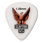 Steve Clayton™ Acetal/Polymer Pick: Standard, 1.26mm, Pack of 72