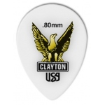 Steve Clayton™ Acetal/Polymer Pick: Small Teardrop, .80mm, Pack of 72