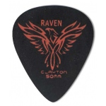 Steve Clayton™ Black Raven Pick: Standard, .50mm, Pack of 72
