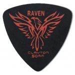 Steve Clayton™ Black Raven Pick: Rounded Triangle, .50mm, Pack of 12