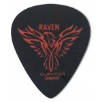 Steve Clayton™ Black Raven Pick: Standard, .38mm, Pack of 12