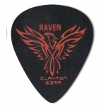 Steve Clayton™ Black Raven Pick: Standard, .63mm, Pack of 12