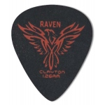 Steve Clayton™ Black Raven Pick: Standard, 1.26mm, Pack of 12