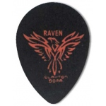 Steve Clayton™ Black Raven Pick: Small Teardrop, .50mm, Pack of 12