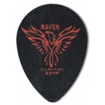 Steve Clayton™ Black Raven Pick: Small Teardrop, .63mm, Pack of 12