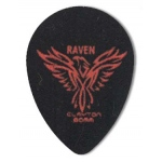 Steve Clayton™ Black Raven Pick: Small Teardrop, .80mm, Pack of 12