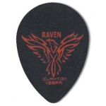 Steve Clayton™ Black Raven Pick: Small Teardrop, 1.26mm, Pack of 12