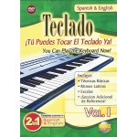 Alfred Music 2 in 1 Bilingual: Teclado, Vol. 1