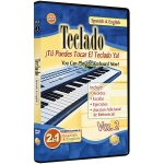 Alfred Music 2 in 1 Bilingual: Teclado Vol. 2