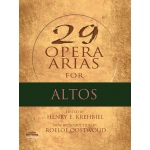 Alfred Music 29 Opera Arias for Altos