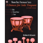 Alfred Music 3 Dances for Solo Timpani