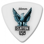 Steve Clayton™ Acetal/Polymer Pick: Rounded Triangle, .50mm, Pack of 12