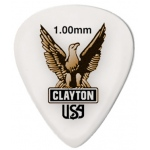 Steve Clayton™ Acetal/Polymer Pick: Standard, 1.00mm, Pack of 12