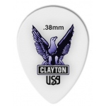 Steve Clayton™ Acetal/Polymer Pick: Small Teardrop, .38mm, Pack of 12