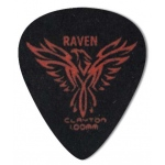 Steve Clayton™ Black Raven Pick: Standard, 1.00mm, Pack of 72