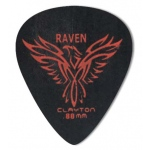 Steve Clayton™ Black Raven Pick: Standard, .80mm, Pack of 12