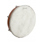 "Roosebeck Outside Tunable Red Cedar Bodhrán Cross-Bar Fiberskyn Head 18""x3.5"""