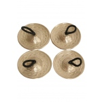 Mid-East Deluxe Cast Brass Finger Cymbals 1.8""