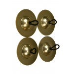 Mid-East Plain Cast Brass Finger Cymbals 1.9""