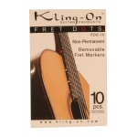 Kling-On Fret Dots Non-Permanent Kling-On 10-Piece