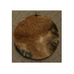 "Mid-East Goatskin w/ Hair 14"" - Thick"