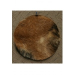 "Mid-East Goatskin w/ Hair 16"" - Thick"