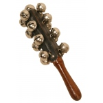 DOBANI Hand Sleigh Bells on Wooden Handle
