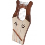 Mid-East Mini Kinnor Harp - Light