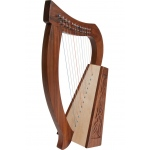 Roosebeck Baby Harp™ 12-String Knotwork