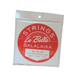 La Bella Balalaika Steel 6-String Set - Loop End