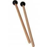 Idiopan 7-Inch Mallets with .75-Inch Ball - Pair - Black
