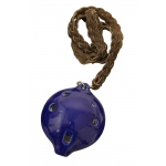 DOBANI Alto Ocarina w/ Braided Necklace A4 - Blue