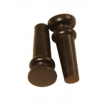 Roosebeck End Pins 2-Pack Ebony