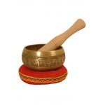 DOBANI Decorated Singing Bowl 3.75""