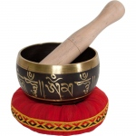 "DOBANI Decorated Singing Bowl 4"" - Buddha"