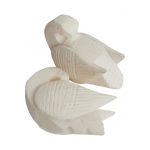 banjira Swan Cattle-Bone Tuning Beads 2-Pack