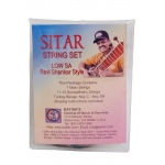 Batish Sitar String Set Pro Low Sa