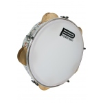 "Mid-East Tunable Egyptian Wave Tambourine 11"" - Mother of Pearl"