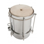 DOBANI Nickel Plated Brass Cuica w/ Goatskin Head 5""