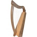 Roosebeck  Pixie Harp™ 19-String - Walnut