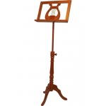 Early Music Shop EMS Single Tray Regency Music Stand - Red Cedar