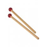 Idiopan 7-Inch Mallets with .7-Inch Ball - Pair - Maroon